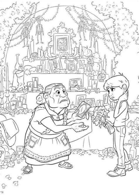 coco coloring book disney pixar coco coloring pages for boys and books printable disney coco coloring pages