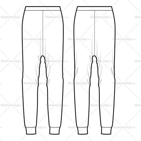 pattern making drop crotch pants drop crotch pants variety flat template illustrator stuff