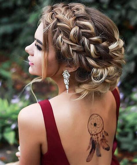 Easy Hairstyles For Prom by Easy Prom Hairstyles For The Year 2018 Chunk Of Style