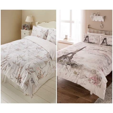 romantic paris duvet quilt cover bedding set latest