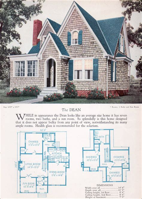 distinctive house design and decor of the twenties 1920s modern english style house plan the dean 1928