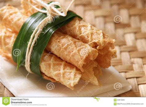 Kue Semprong By Frozen Food kue semprong stock photo image of snack food organic
