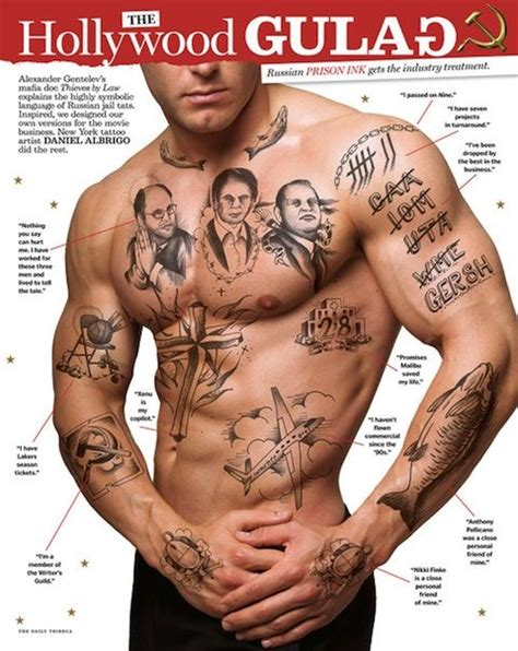 russian prison tattoo the inked male pinterest