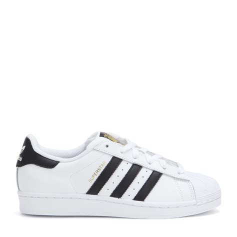 adidas leather sneakers adidas superstar leather sneakers in white lyst