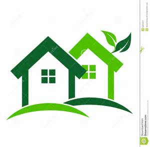 house logo design vector green houses logo stock vector image 52474227