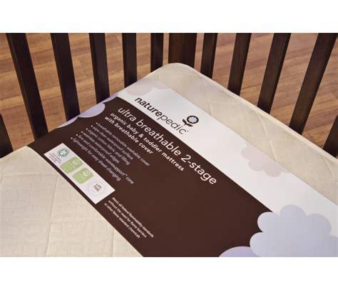 naturepedic no compromise organic cotton classic lightweight crib mattress naturepedic organic cotton lightweight classic 2 stage