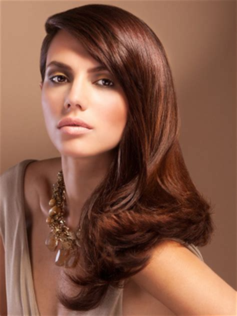 light chocolate brown hair color autumn cozy