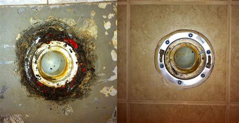 Toilet Flange On Concrete Floor by Henderson S Home Improvement Llc Bathroom Tile And Toilet
