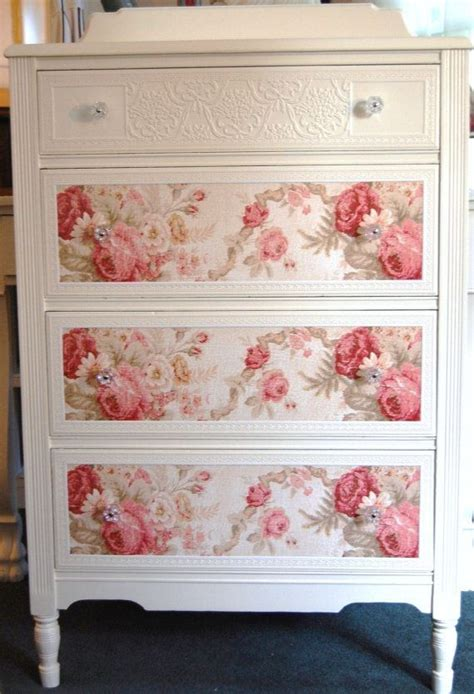 Diy Decoupage Dresser - best 25 fabric dresser ideas on fabric