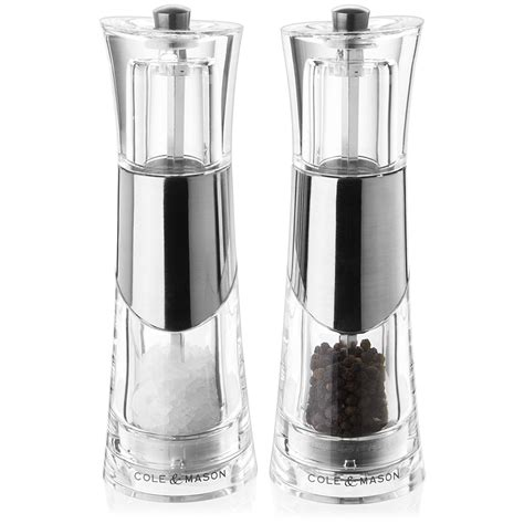 Gifts For Housewarming cole amp mason bobbi salt amp pepper mill set peter s of