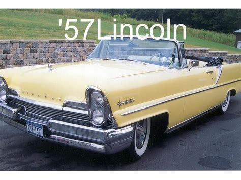 photo1 jpg picture of lincoln 1957 lincoln premiere for sale classiccars cc 673537