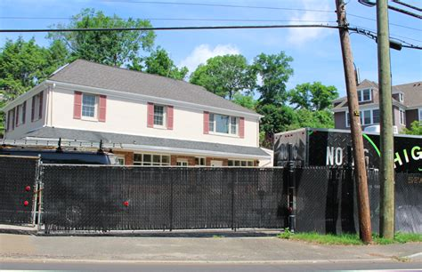 a funeral home at the former summer site on valley rd