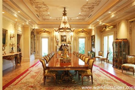 mansion dining room the gallery for gt dining rooms in mansions