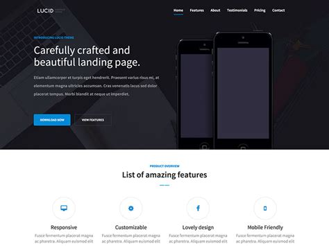 free 15 bootstrap themes for landing page webmaster forum