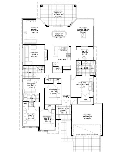 house designs for wide blocks 173 best images about decor house plans on pinterest home design house builders