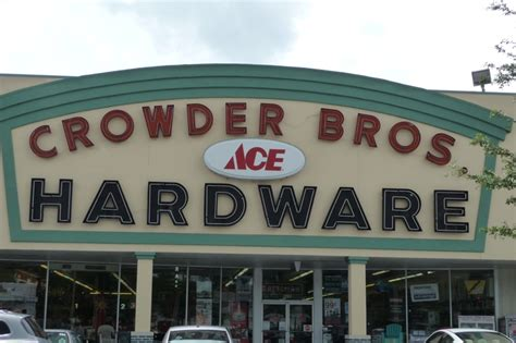 mob invaded local crowder bros ace hardware store in