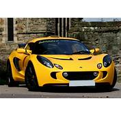 Lotus Exige  Saffron Yellow