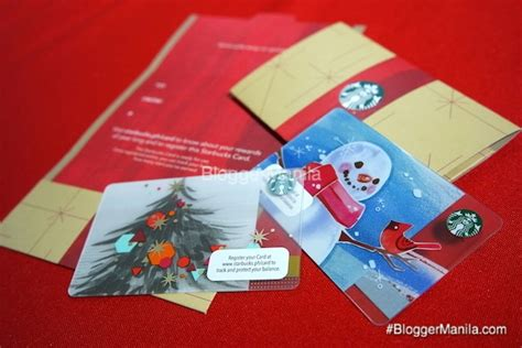 Starbucks Philippines Gift Card - christmas starbucks card chrismast cards ideas