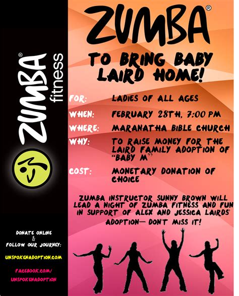 zumba fundraising night you re invited