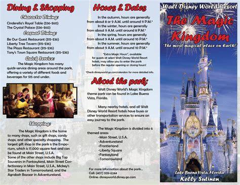 Travel Brochure Kelly Sutinen S Desktop Publishing E Free Travel Brochure Maker