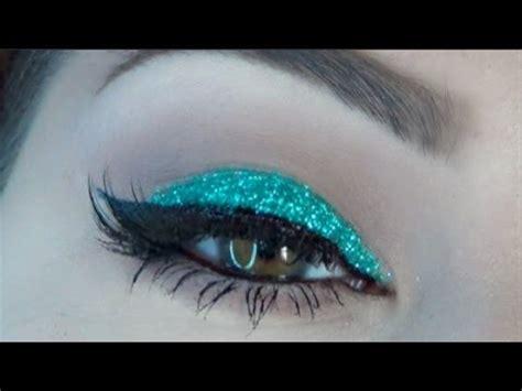 softlens aquas glitter new new years makeup aqua glitter tutorial beautybyjosiek