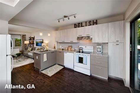 Apartments Now Leasing In Atlanta Modern Apartment Color Bathroom Design Small Spaces Home