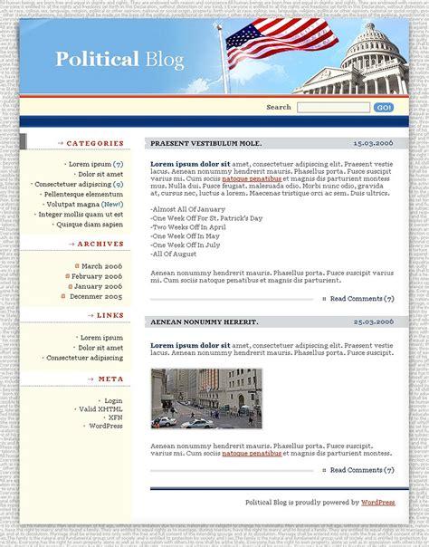 theme wordpress quill political news wordpress theme 11105