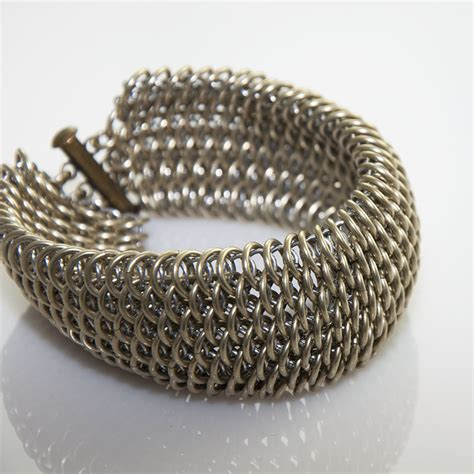 Jump Ring Nikel Isi 20g Jump Ring Silver Ring Ring Nikel nickel silver dragonscale bracelet bracelets and anklets theringlord forum