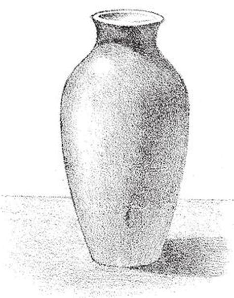 Vase Drawing For by How To Shade Vases Adding Shadows To Vases Drawing
