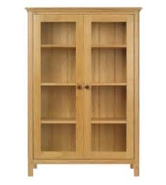 Wooden Bookshelves With Glass Doors Brown Wooden Bookshelves With Glass Door Of Cool Interior