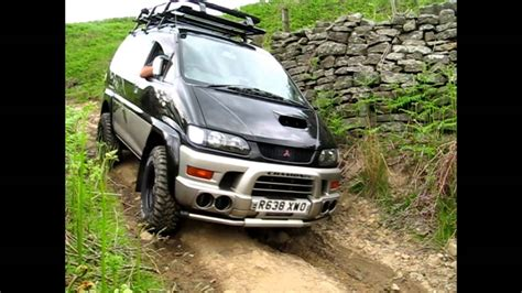 mitsubishi delica 4x4 delica 4x4 cervan off road youtube