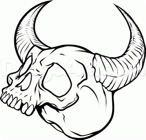 draw tattoo how to draw skull tattoos skull tattoos step by step