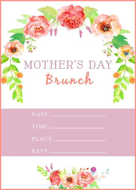 Mothers Day Printable