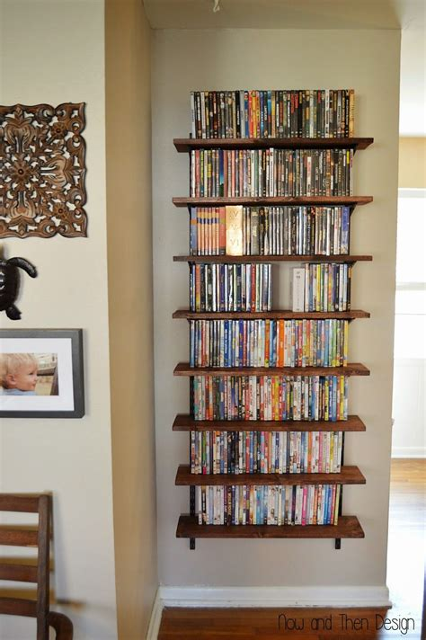dvd wall shelf dvd storage pinteres