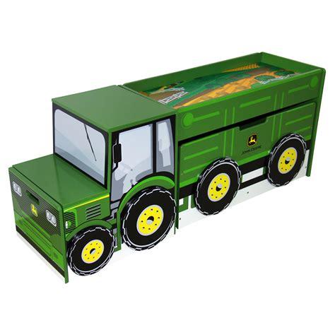 john deere toy box bench john deere tractor toy box set reviews wayfair