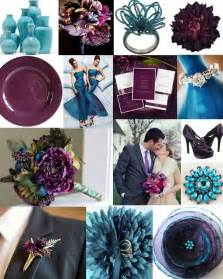 plum wedding colors plum and teal and turquoise wedding inspiration 2 chic