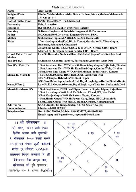 marriage resume format in word in marathi 113795343 png 1241 215 1753 biodata for marriage sles