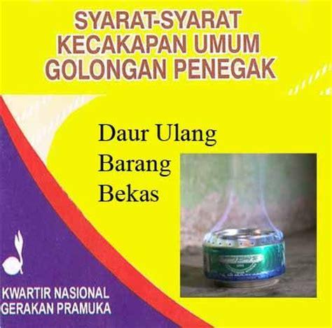 Kaleng Pin 58 pemanfaatan barang bekas daur ulang pramuka sma negeri 3 bojonegoro