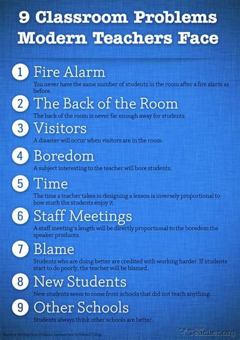 challenges facing educators 9 classroom problems facing teachers educational