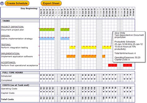 Excel Template Project Management Calendar Monthly Printable Project Management Excel Templates Free