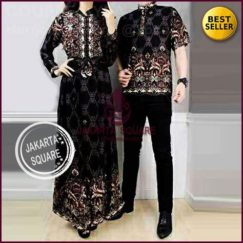 Harga Baju Gamis Batik Jual Beli Baju Pasangan Gamis Sarimbit Batik Alya