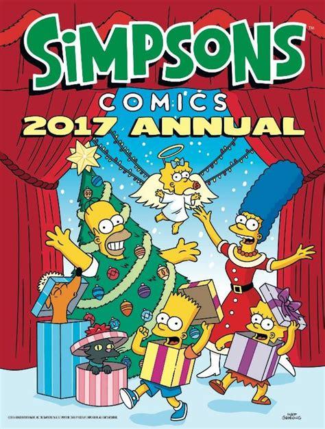 the simpsons annual titan books the simpsons annual 2017 matt groening