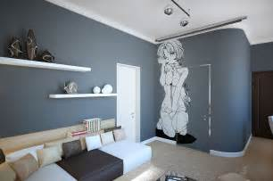 Home Decor Grey Walls A Room Decorated In Two Distinct Styles
