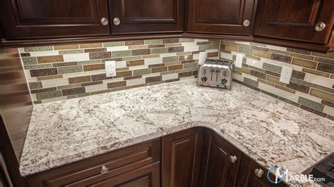 Kitchen Backsplashes Pictures bianco antico granite countertops in a new kitchen