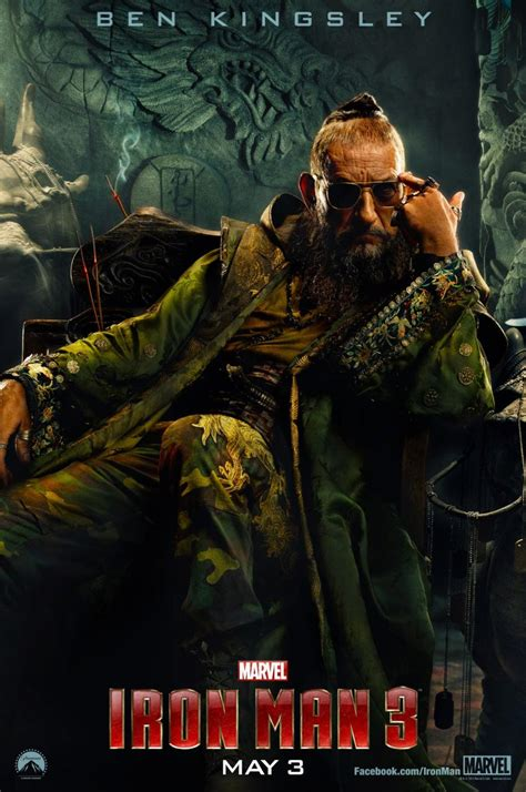 Film Mandarin Just You | the mandarin shows off his swag in new iron man 3 poster