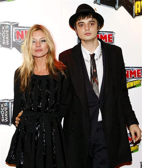 Is It True Kate Moss Married Pete Doherty by Kate Moss And Pete Doherty Rockstar Romances Us Weekly