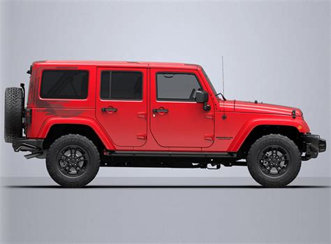 Jeep Wrangler Winter Edition Jeep Wrangler Unlimited Winter Edition 2017