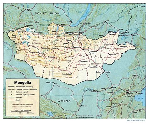 mongolia map nationmaster maps of mongolia 5 in total