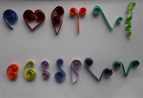 how to make basic quilling scrolls tutorial part 2 for