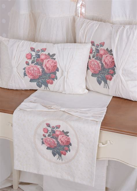 country tablecloths and curtains tablecloth roses country style table runner white